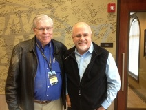 Our CPA, Bob, with Dave Ramsey